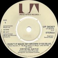 Crystal Gayle – Don't It Make My Brown Eyes Blue