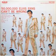 Elvis Presley – 50,000,000 Elvis Fans Can't Be Wrong