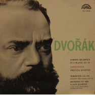 "Smetana Quartet / Members of The Vlach Quartet - Dvorak - String Quartet in F, Opus 96 ""American"" / Terzetto"