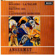 Ravel, Honegger & Dukas / Ansermet, L'Orchestre De La Suisse Romande – Works By Ravel, Honegger & Dukas