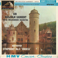 """Beethoven, Sir Malcolm Sargent, Royal Philharmonic Orchestra – Symphony No.3 """"Eroica"""""""