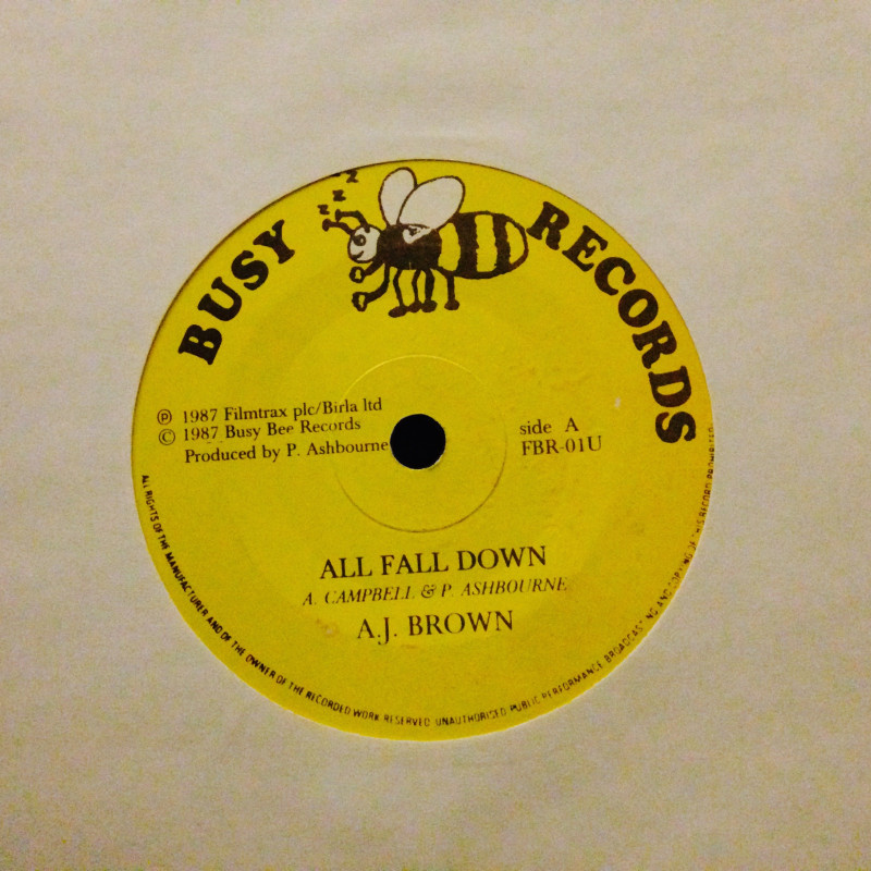 A.J. Brown All fall down / Version