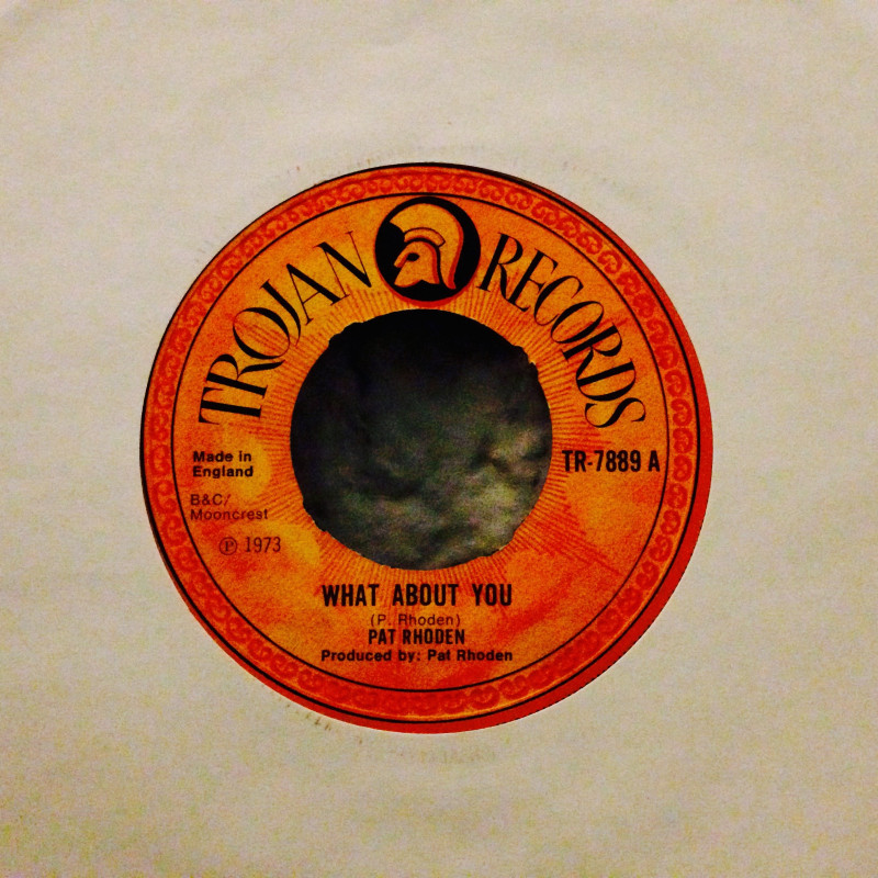 Pat Rhoden What about you / Come beside me